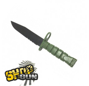 BAIONNETTE FACTICE M10 Dummy knife - OD