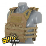 Gilet tactique Delta V18 Molle - Tan