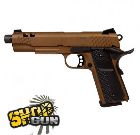 Secutor RUDIS V 1911 Fullmetal Blowback Co² - Bronze