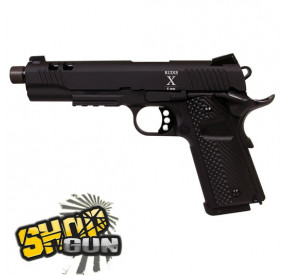 Secutor RUDIS X 1911 Fullmetal Blowback Co² - Black
