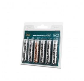 Échantillon de Plombs Hunting 4.5mm - Pack de 6