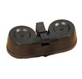 Chargeur AEG AK Dual ammo box 2000 billes Drum Tambour