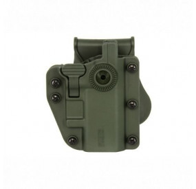 Holster rigide CQC 360° ADAPT-X ambidextre UNIVERSEL Vert Olive