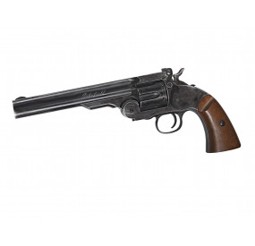 "Revolver SCHOFIELD 6"" co2 black 6MM"