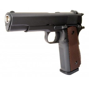 Colt 1911 graphite Fullmetal Blowback Gaz - WE