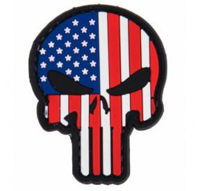 Patch PVC Skull USA Lancer Tactical