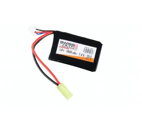 SWISS ARMS - Batterie LIPo 7.4V 1600mAh Mini Tamyia 25C