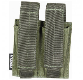 Poche MOLLE double PA Olive Viper Tactical