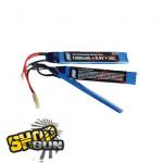 Batterie 9,9V 1000 mAh, LI-FE, sticks