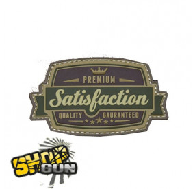 "Patch velcro PVC ""Satisfaction"" Multicam"