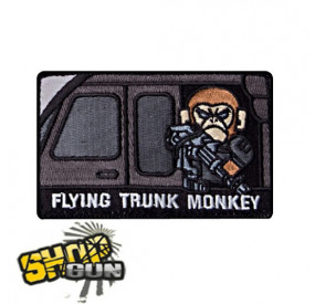 "Patch velcro ""Flying Trunk Monkey"" Swat"
