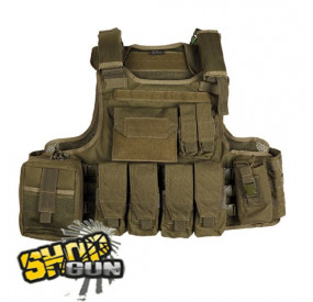 Veste tactique MOLLE Strike Systems OD