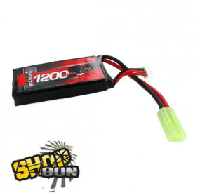 Batterie Li-po 7.4V/1200mAh 30C Swiss Arms