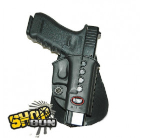 Holster FOBUS new design droit paddle Glock17/19