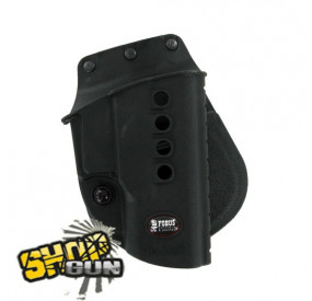 Holster FOBUS new design droit paddle Taurus PT24/7