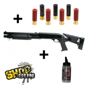 Pack Shotgun Multi-shot Flex-stock Spring