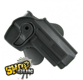 Holster rotation 360° paddle Colt 1911 droitier