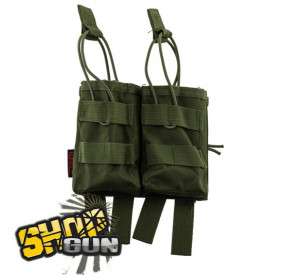 Poche Molle Double Chargeur G36 OD Green